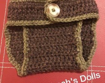 Crochet baby diaper covers!