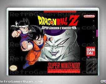 Dragon Ball Z: Super Gokuden 2 (Super NES Reproduction)