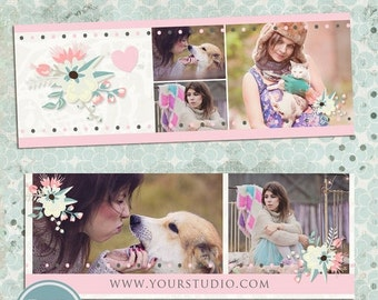 ON SALE INSTANT Download Timeline Cover Templates, psd file