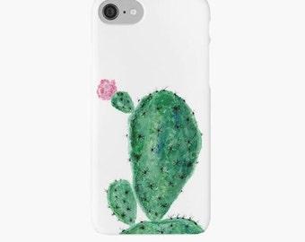 Cactus iPhone Case, cactus iphone 7 case, cactus iphone 6 case, cactus phone case, floral iphone case, floral cactus case