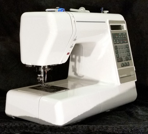 Kenmore 150 model 385 1915 electronic sewing machine with for Machine a coudre kenmore modele 385