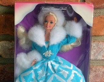 1996  Winter Renaissance Barbie - Boxed, Evening Elegance -Vintage - Fabulous!