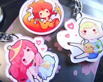 Adventure Time Keychains
