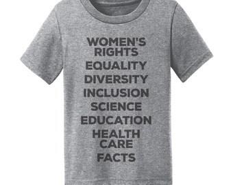 Kids Shirt Womens March Shirt Womens March Womens Rights Shirt Womens Rights Are Human Rights Nasty Woman Shirt Nasty Woman T Shirt Women