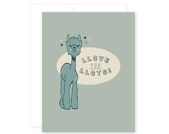 Love // Llama Llots of Llove!