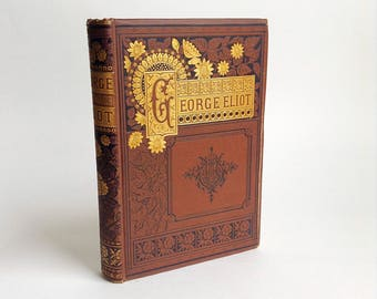 Vintage Hardcover Book of the Poems of George Eliot