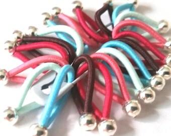 choose Size - soft flexible FLOOPS knitting stitch markers - 'Pomfret'