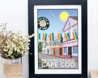 Provincetown, Cape Cod, America Print