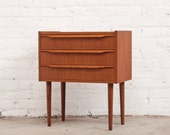 Arne Vodder Danish Teak Nightstand