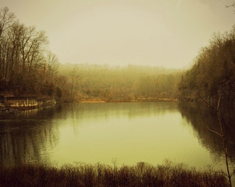 Nature, Serenity, Lake Nockamixon, Bucks County, Country, Park, Countryside, Woods, Forest, Print, Canvas, Wall Art, Tranquil Scene