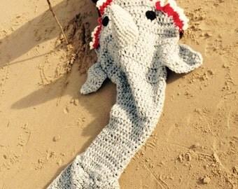 Shark blanket- Childrens & Adults