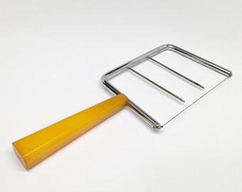 Vintage Cheese Slicer w/ Bakelite Handle