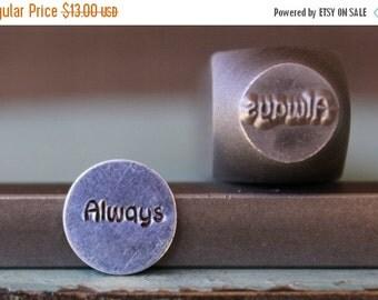 "Spring Sale Brand New 9mm ""Always"" Word Series Metal Design Stamp - SGCH-93"