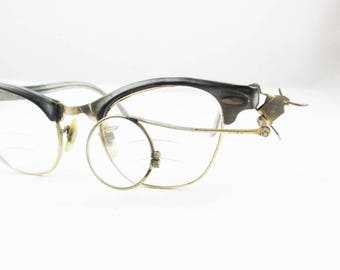 1930s Jeweler's Magnifier - Bauch & Lomb 3.5 Magnifier - Wear It - Use It - Display It - Jeweler's Loupe - Spectacles