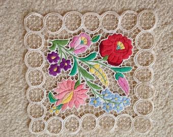 Vintage kalocsai, hungarian embroidery