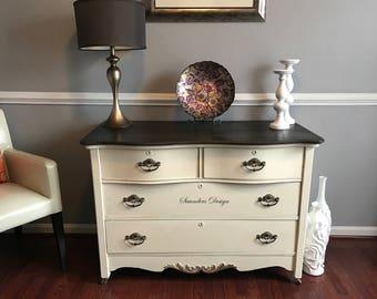 Sale/Shabby Chic Antique Distressed Rustic Farmhouse Dresser