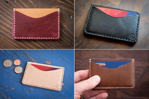 BUILD-YOUR-OWN - Three Pocket Flat wallet