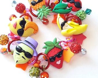 Fun fruit bracelet/Beadiebracelet