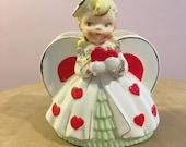 1957 Neidco Blond Valentine Girl Planter