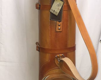Hand Crafted Leather Vintage Style Golf Bag (Custamizable)