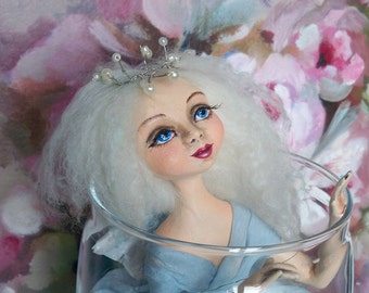 "OOAK Art doll  ""Set me free..."" OOAK doll Art doll Collectible doll Interior doll"