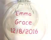 Newborn Ornament for Hospital Bracelet