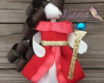 Elena of Avalor Ribbon Hair Clip, Princess Hair Clip