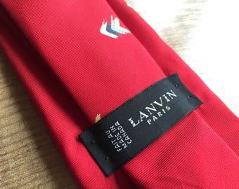 Vintage Lanvin Tie