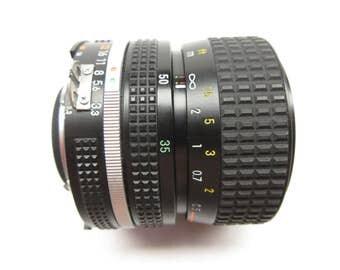 Nikkor 35-70/3.3-4.5  #2184102, AIS zoom lens for Nikon