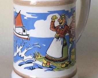 Søholm Denmark Krus 380 Sausmark Rare Mug, Tankard Picture Danish Soholm Cartoon