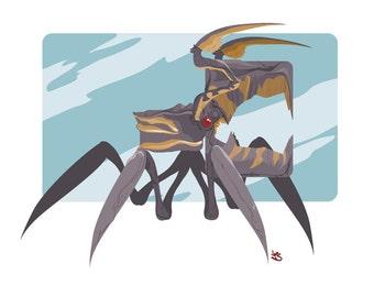 Arachnid from Klendathu