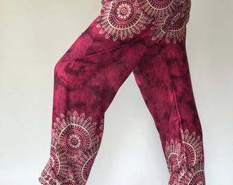 CH0021 Relax pants Aladdin Pants Maxi Pants Boho Pants Gypsy Pants Rayon Pants
