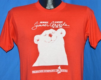 80s Milwaukee Symphony Orchestra At The Zoo t-shirt Small