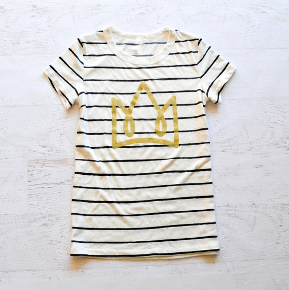 Crown Striped Women's Tee - LIMITED EDITION