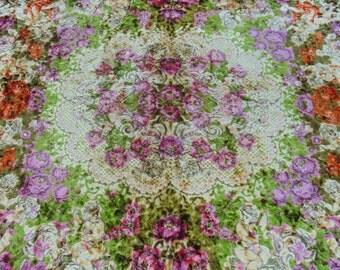 Italian Bedspread|Vintage Italian Bedspread|Italian Wedding Blanket|Boho Italian|Gypsy Italian Blanket|King Size Bedspread|Cherub Bedspread
