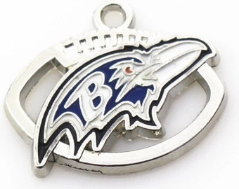 Baltimore Ravens Football Charm