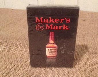 Makers Mark playing cards