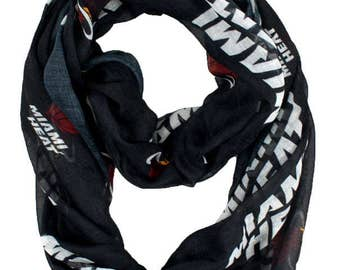 Miami Heat Sheer Infinity Scarf NBA