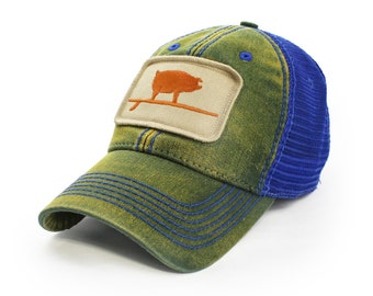Everyday Trucker Hat Wave Hog, Ocean Green