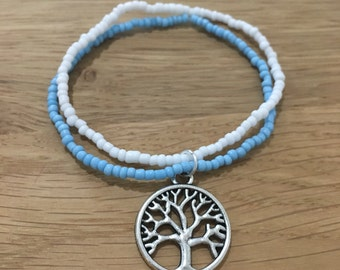 Seed bead Tree Braclet