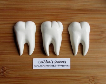 TOOTH Mini Chocolate Covered Oreos (24) - Tooth Fairy/Dental Hygienist/Dental Assistant/Dental School/DENTIST GIFT