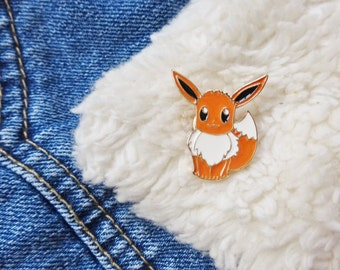 Pokemon 90s Eevee Nintendo Gameboy Ash Ketchum Pin Badge