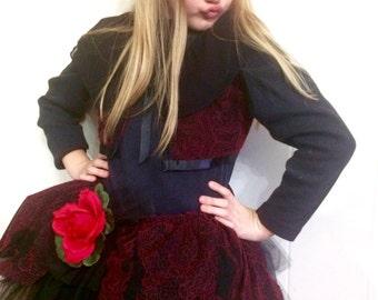 Spanish Dancer Tutu-Perfect for Halloween, special occasion, birthday party, photo shoot, pageant wear,