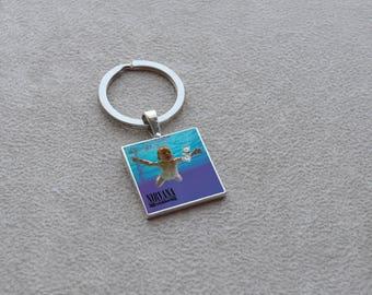 key ring Nirvana album art