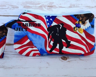 Wounded Warrior Clutch - Ready to Ship