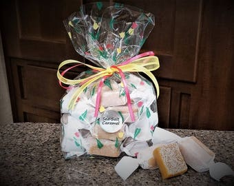 1/2 lb. SALTED CARAMELS Gift Bag - Proceeds help pay medical bills for brothers Karson and Kolton