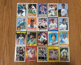 100 Milwaukee Brewers Baseball Cards