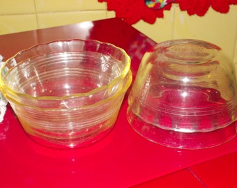 vintage pyrex custard cups