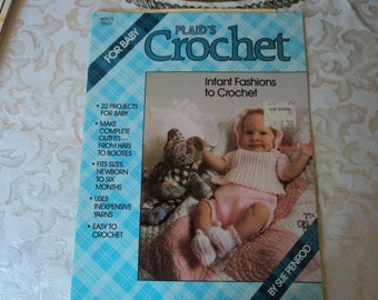 Plaid's Crochet for Baby #8072