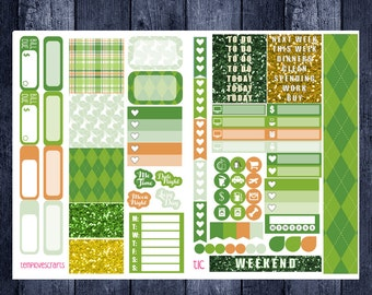 St. Patrick's Day Kit for Personal Planner